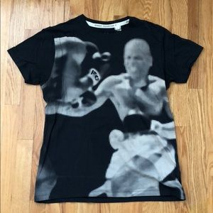 French Connection Men's Boxing Tee. Size L